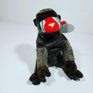Cheeks Ty Beannie baby Gorilla